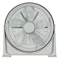 "Optimus White 20"" 90 deg Pivot Turbo High Performance Air Circulator"