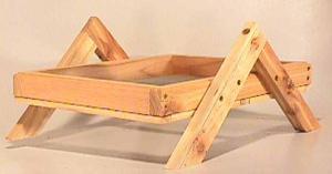 Tray / Platform Feeders by Songbird Cedar