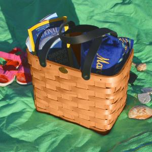 Empty Picnic Baskets by Peterboro Basket Co.