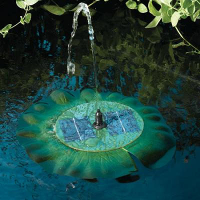 Smart Solar Lily Floating Solar Fountain
