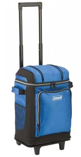 Coleman 42 Can Wheeled Cooler, Blue