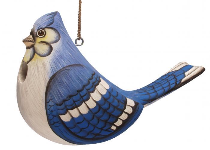 "Songbird Essentials ""Fat"" Blue Jay Birdhouse"