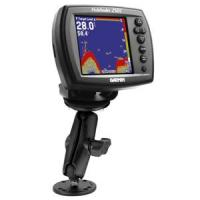 "RAM Mount Double Socket Arm f/Garmin Marine Fixed Mount GPS 1"""