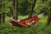 Byer of Maine Gigante Family Size Hammock, Lave Red
