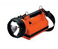 Streamlight LiteBox Vehicle Mount System w/ DC Direct Wire Rack & Shoulder Strap, Orange