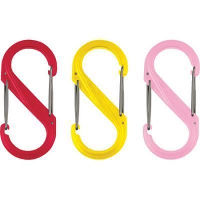 Nite-ize S-Biner Plastic Size #2, Yellow, Single
