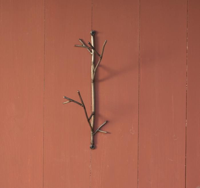 Ancient Graffiti Twig Wire Hook Double