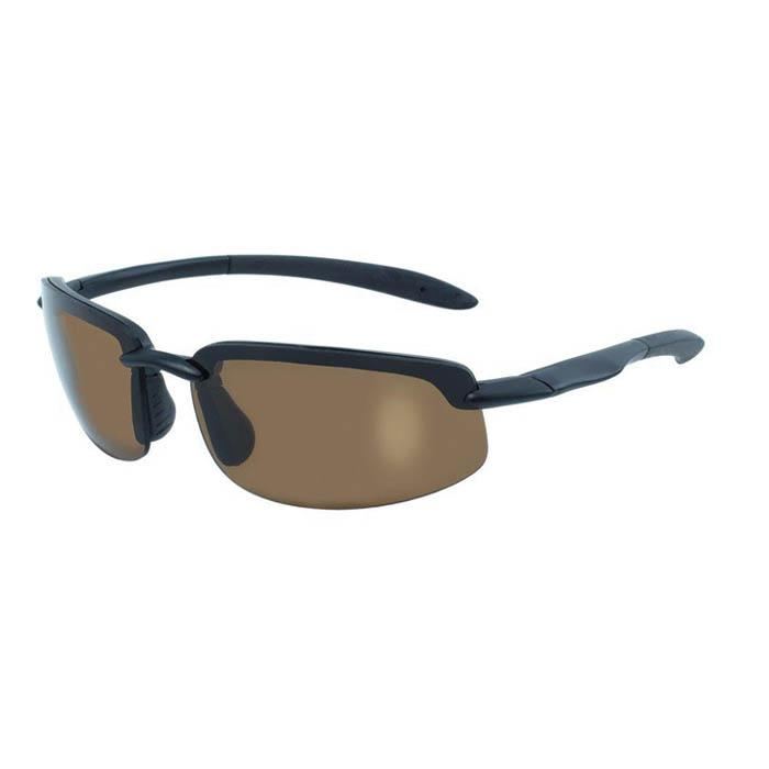Global Vision Ty-Phoon Polarized Sunglasses, Brown