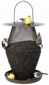 Wire Caged Feeders by No/No Feeder