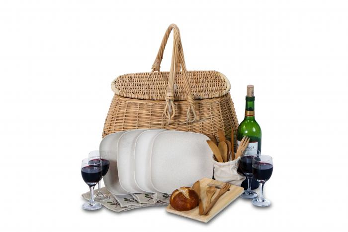 Picnic Plus 4 Person Eco Picnic Basket
