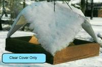 Songbird Essentials 9 x 9 Clear Cover For Platform/Tray Feeder