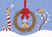 Tree Free Greetings Spread Joy Christmas