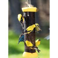 "Birds Choice 12"" Magnet Mesh Clever Clean Nyjer Bird Feeder"