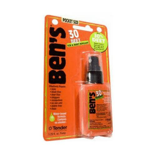 Adventure Medical Bens 30% Deet Tick & Insect Repellent Spray - 1.25oz Pump