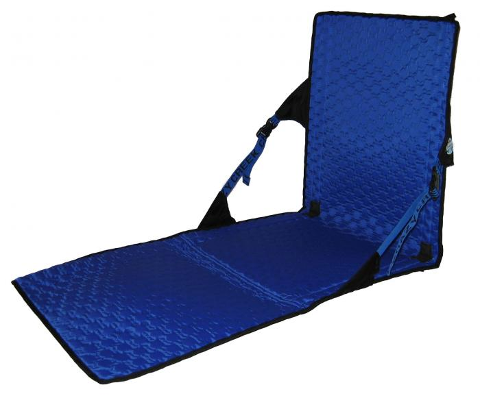 Crazy Creek HEX 2.0 PowerLounger, Black/Royal Blue
