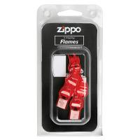 Zippo Plastic Display Flames, Red, 5 Per Blister Carded Package