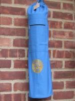 OMSutra OM Natraj Drawstring Yoga Mat Bag - Blue
