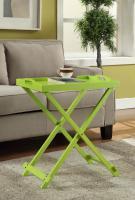 Designs2Go Folding Tray Table, Green