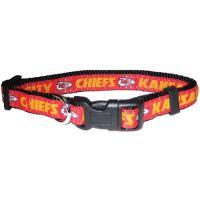 Kansas City Chiefs NFL Dog Collar - Large