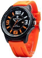 Smith & Wesson SWW-LW6083 EGO Series Watch with Silicon Strap, Orange