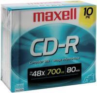 Maxell 622860/648210 80-Min/700 MB CD-R