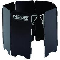 NDuR Mini Stove Windshield w/Carry Bag, Black, Small