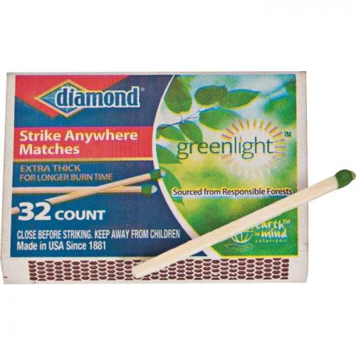 Diamond Strike Anywhere Matches 10 Pack