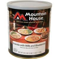 Mountain House Granola with Milk & Blueberries - 27 1/2 Cup Servings