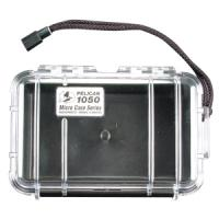 Pelican Products Micro Case Clear, Black, 7.5 x 5.06 x 3.13