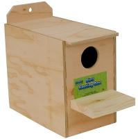 Lovebird Nest Box Inside Mount