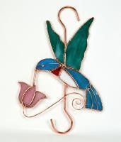 Gift Essentials Hummingbird with Pink Flower Hook