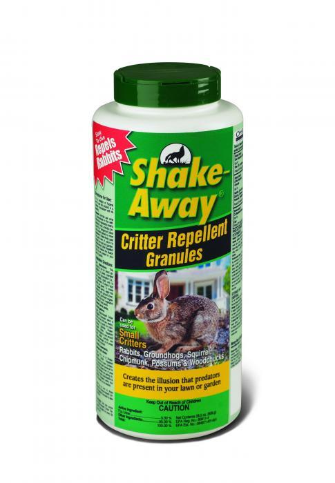 Shake-Away 28.5 oz Critter Repellent Granules