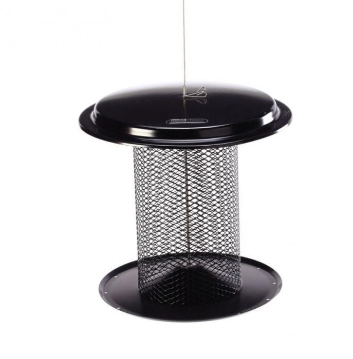 Birds Choice 5 Quart Magnet Mesh Sunflower Feeder - Black