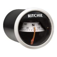 Ritchie X-21WW Compass - Dash Mount - White/Black