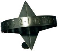 Sun Clock Sundial - Oil Rub Bronze