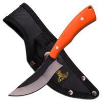 Elk Ridge Fixed Blade Knife Orange Handle