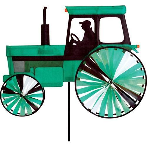 Premier Designs Modern Tractor Green Spinner