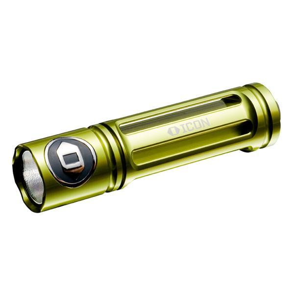 ICON Flashlights ICON Rogue 1 Flashlight, 1 x AA, Dual Stage Handheld, Green