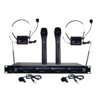 Pyle-Pro PDWM4300 4 Microphone VHF Wireless Microphone System