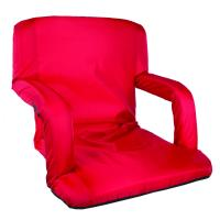 Stansport Multi Fold Padded Arm Chair - Red