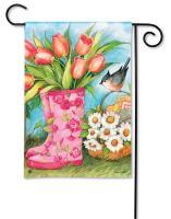 Magnet Works Garden Boots Garden Flag