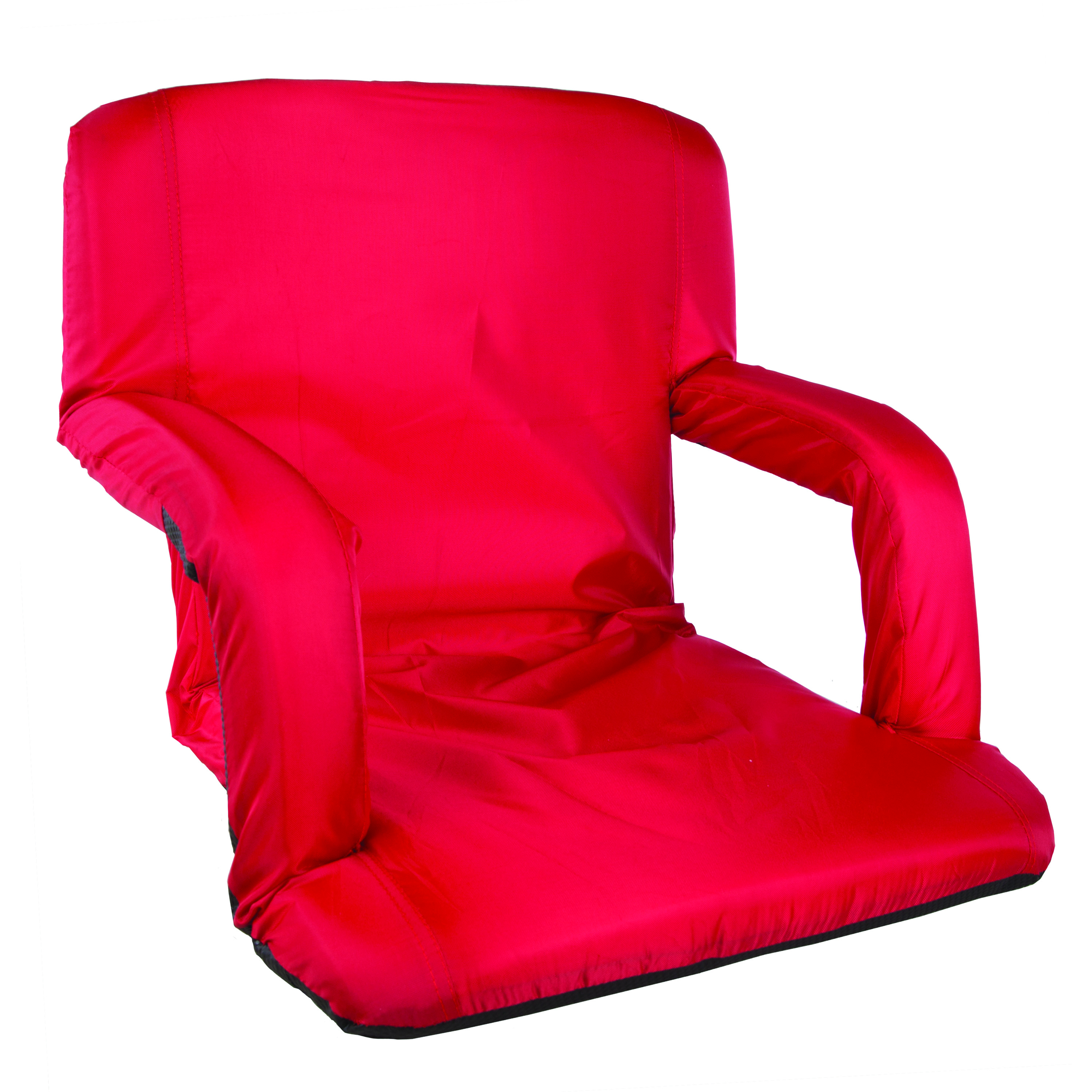 Stansport Multi Fold Padded Arm Chair Red