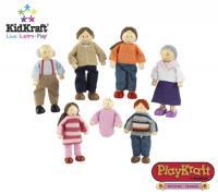 KidKraft Doll House Family - Caucasian