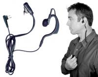 BodyGuard 2-Wire Communication Kit for 2 -way Radios
