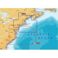 Navionics US Mid Atlantic & Canyons Map
