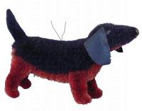 Brushart Dog Dachshund Ornament
