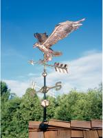 Copper Eagle Weathervane - Polished