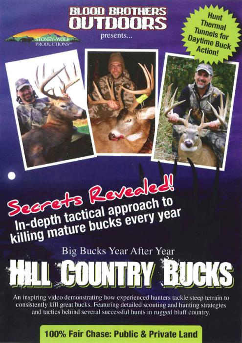 Stoney-Wolf Hill Country Bucks DVD