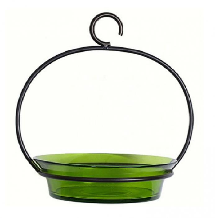 Couronne Company Lime Cuban Bowl Birdbath