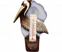 Bobbo Brown Pelican Thermometer Small